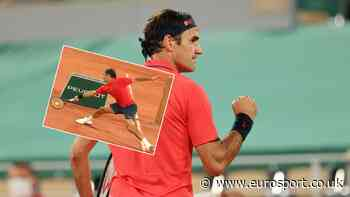 French Open tennis - 'How on earth?' - Roger Federer with round-the-net stunner to win wild point - Eurosport.co.uk