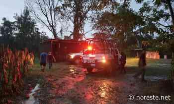 Un rayo mata a hombre en Coatzintla - NORESTE