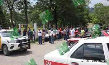 Tensión en la comunidad Contreras de Coatzintla - NORESTE
