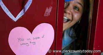 Prairie High School students turn Inspire Week focus to thanking staff - clarkcountytoday.com