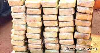 Polícia de Ituiutaba incinera carga de pasta base avaliada em R$ 1 milhão - Estado de Minas
