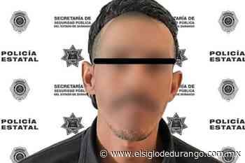 Detienen en Pueblo Nuevo a vendedor de droga - El Siglo Durango