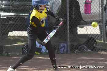 Runs aplenty for Moose Jaw Ice in commanding U12 girls fastball wins - moosejawtoday.com