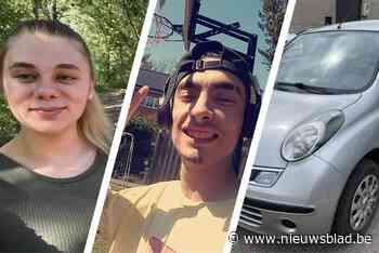 Stiefbroer en stiefzus uit Kleine-Brogel verdwenen met auto van vriend - Het Nieuwsblad