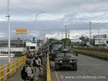 Colombia despliega 1.700 efectivos de sus Fuerzas Armadas en su principal puerto marítimo - Noticias Infodefensa América - Infodefensa.com