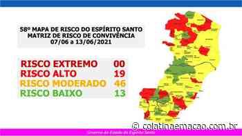Divulgado novo Mapa de Risco do Espirito Santo - Colatina em Ação
