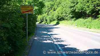 Sanierung von B 463 - Arbeiten zwischen Bad Liebenzell und Ernstmühl starten Montag - Schwarzwälder Bote