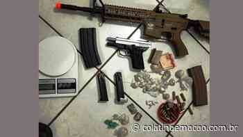 Três pessoas são presas por tráfico de drogas no centro de Colatina - Colatina em Ação