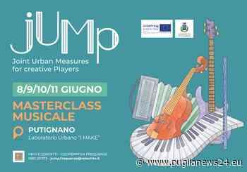 """Putignano, """"Masterclass di musica e concerti"""": ecco quando - Puglia News 24"""