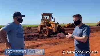 Vídeo: Vereadores Val e Negrona visitam obras do contorno Viário de Palotina - Correio do Ar
