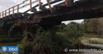 Cierran puente Los Molinos de Purranque tras colapso de superestructura - BioBioChile