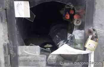 Macabro: robaron la urna de su hijo del cementerio San Francisco Solano - Diario NORTE