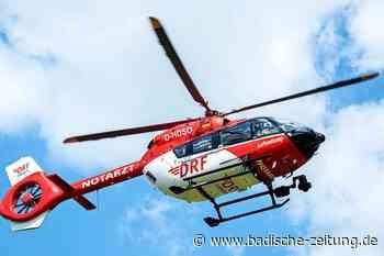 Sieben Schwerverletzte nach Frontalzusammenstoß zweier Autos bei Schiltach - Südwest - Badische Zeitung
