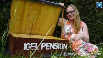 Video aus Vareler Garten: In Obenstroher Igelpension herrscht munteres Treiben - Nordwest-Zeitung