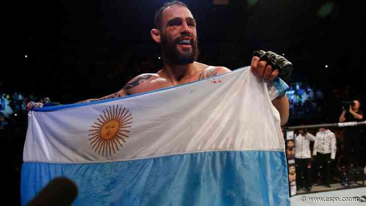 Destaque no UFC Vegas 28, Santiago Ponzinibbio coloca brasileiros entre adversários preferidos para próxima luta - ESPN.com.br
