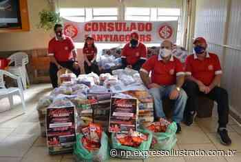 Consulado do Inter distribuiu mais 700 Kg de alimentos em Santiago - Jornal Expresso Ilustrado
