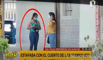 Huacho: casi agarran a golpes a mujer que estafaba con camas UCI - Panamericana Televisión