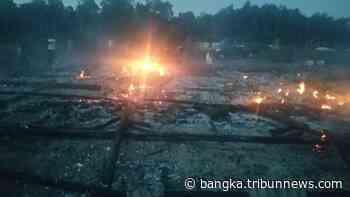 BREAKINGNEWS Ponpes Tahfidz Guntur Pengkalen Batu Terbakar, Menyisakan Pakaian yang Dipakai Santri - Bangkapos.com
