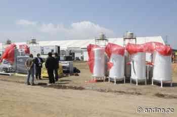 Trujillo: Centro de Atención Temporal Ramón Castilla recibe planta de oxígeno medicinal - Agencia Andina