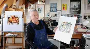 Die Bilder des Malers Dietmar Israel aus Stutensee-Spöck werden zu Spiegeln des Seelenlebens - BNN - Badische Neueste Nachrichten