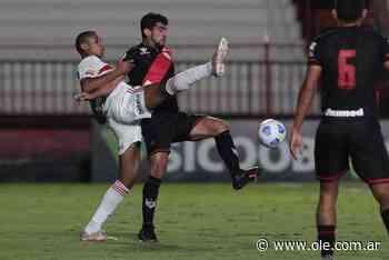 Atlético GO le ganó 2-0 a San Pablo, sin Crespo en el banco - Olé