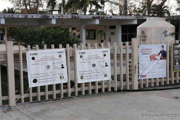 Cierran casillas en Felipe Carrillo Puerto - Canal 10