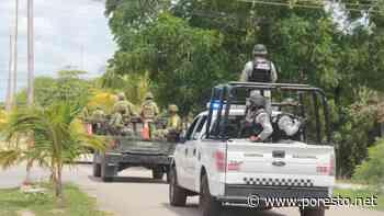 Realizan operativo de seguridad, tras ola de violencia en Felipe Carrillo Puerto - PorEsto