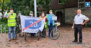 A20-Protest: Sternfahrt im Regen gegen Küstenautobahn - Nordwest-Zeitung