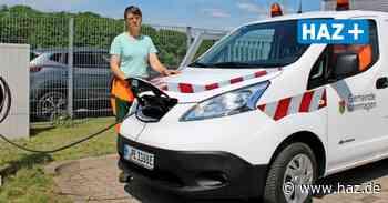 Isernhagen: Erstes Elektroauto auf dem Bauhof für die Baumkontrolle - Hannoversche Allgemeine