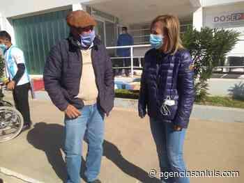La ministra de Salud coordinó el operativo de vacunación en La Calera - Agencia de Noticias San Luis