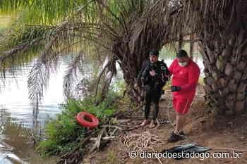 Bombeiros resgatam corpo de pescador, em Caldas Novas - Diário do Estado