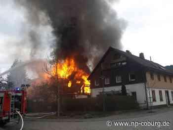 Kronach: Brand in Steinwiesen: Feuerwehr entdeckt Toten - Kronach - Neue Presse Coburg