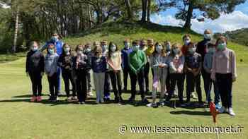 Le Touquet : les élèves se perfectionnent à la pratique du golf - Les Echos du Touquet