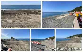 Voltri, ripascimento in ritardo e spiaggia inaccessibile (FOTO) - LaVoceDiGenova.it