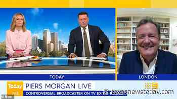 """Today: Piers Morgan tells Allison Langdon, """"My wife is the luckiest woman in Britain!"""" - Texasnewstoday.com"""