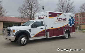 Photo: Langdon (ND) Accepts Delivery of Horton Type 1 Ambulance - JEMS.com