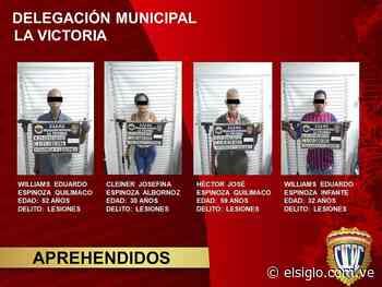 Cuatro detenidos en pelea callejera en Zuata - Diario El Siglo