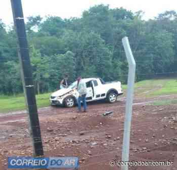 Palotinense fica ferido ao capotar veículo a caminho de Terra Roxa - Correio do Ar