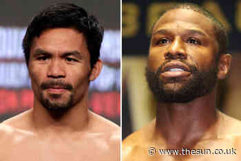 Floyd Mayweather goads Manny Pacquiao over bank balance ahead of Spence Jr bout and says 'he has to fight…... - The Sun