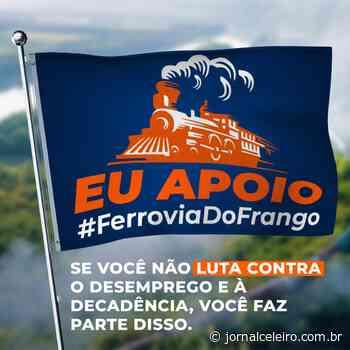 Grupo de Campos Novos participará de reunião com Ministério da Infraestrutura para debater Ferrovia do Frango - Jornal O Celeiro