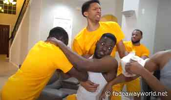 (Funny Video): How LeBron James Was In The Locker Room After Losing To The Suns In The First Round - Fadeaway World