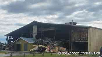 Meadow Lake, Sask. community arena destroyed in blaze - CTV Toronto