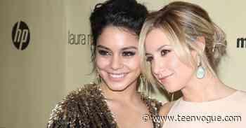 Ashley Tisdale Shares Photos of Daughter Jupiter Meeting Vanessa Hudgens - Teen Vogue