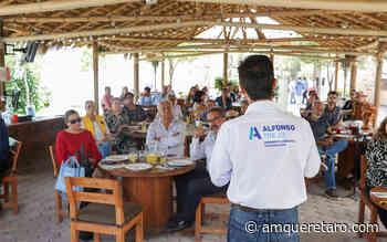 Respaldan a Alfonso Trejo empresarios en Tequisquiapan - Periodico a.m.