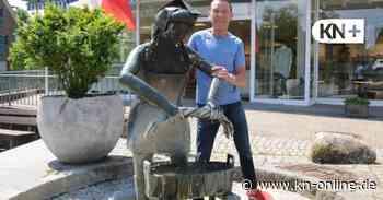 Warum es manchmal nicht plätschert an Denkmal und Brunnen in Bad Bramstedt - Kieler Nachrichten