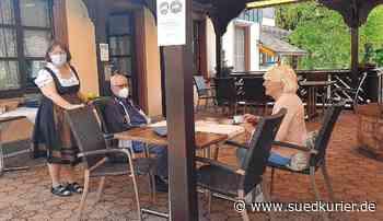 Blumbergs Gastronomen begrüßen die ersten Gäste   SÜDKURIER Online - SÜDKURIER Online