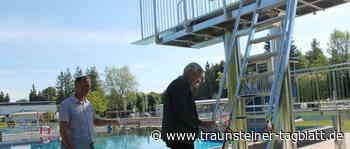 Traunreut: Heute öffnet das Traunreuter Freibad - Traunsteiner Tagblatt