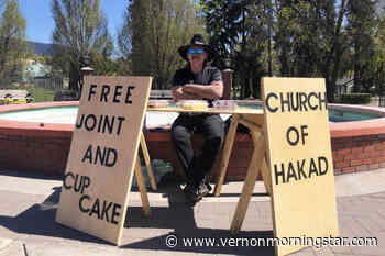 Lumby man back in Vernon with free joints, cupcakes on 4-20 – Vernon Morning Star - Vernon Morning Star