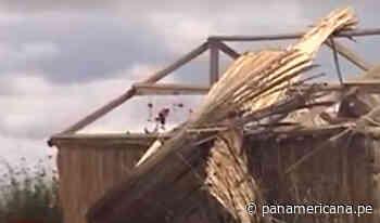 Puno: vientos huracanados afectaron isla de Taquile y Uros - Panamericana Televisión