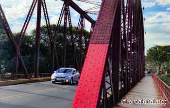 Vermelho vence enquete para nova pintura da Ponte de Ferro da Avenida dos Trabalhadores - O Regional